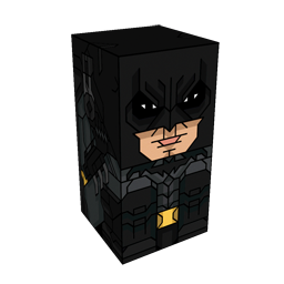 360 degree spinnable 3D preview of the Batman - Arkham Squatties character. From the Batman set.