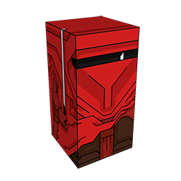 360 degree spinnable 3D preview of the Imperial Royal Guard Squatties character. From the Star Wars set.