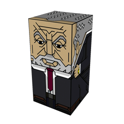 The Squatties Lord Alan Sugar character. From the Business set.